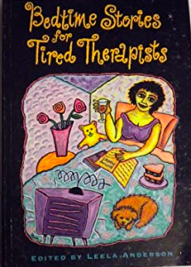 Bedtime stories for tired therapists by Dulwich Centre Publications book cover