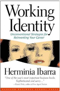 Working identity by Herminia Ibarra book cover